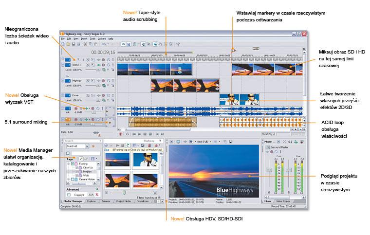 أقوى برامج الصوت و تقنياته Sony Vegas 7.0a الفيدو 335